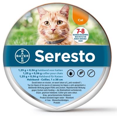 Seresto Teken- En Vlooienband Kat
