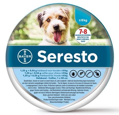 Seresto Teken- En Vlooienband Kleine Hond