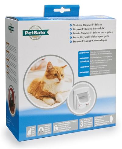 Petsafe Kattenluik 400 Magnetisch Wit