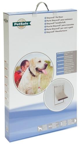 Afbeelding Staywell 660 Extra Large Aluminium Pet Door Per stuk door Discount4Pets