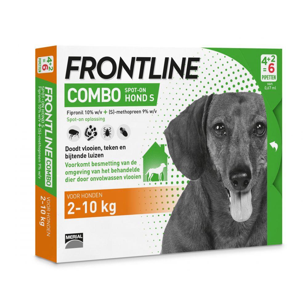 Afbeelding Frontline Combo Spot-On Hond S 6 pipetten door Discount4Pets