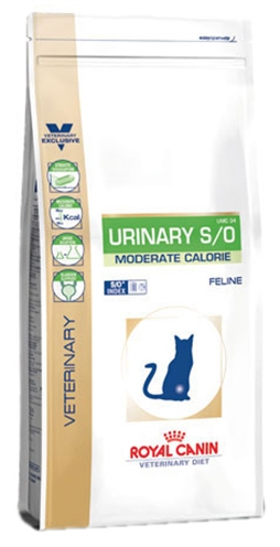 Royal Canin Veterinary Diet Kat Urinary S/O Moderate Calorie
