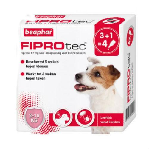 Beaphar Fiprotec Spot-On Small Hond 4 pip (2-10kg)