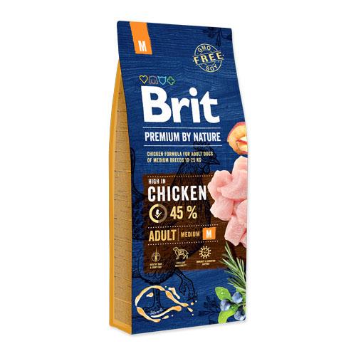 Brit Premium by Nature Adult Medium Hond 15kg