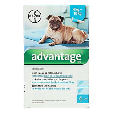 Bayer Advantage 100 Hond