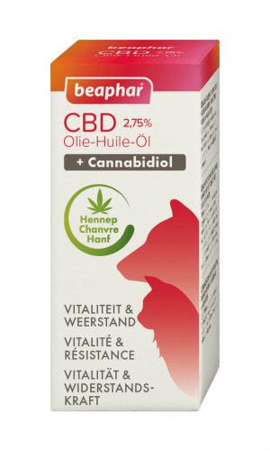 Beaphar CBD Olie 2,75% - 10 ml