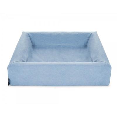 Afbeelding van Bia Bed Cotton Overtrek Blauw nr. 6 80x100cm