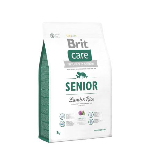 Brit Care Senior Lam & Rijst Hond 3kg