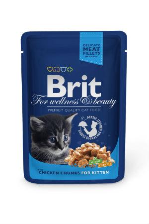 Brit Premium Pouch Kitten