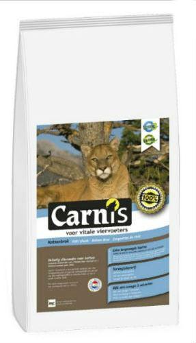 Afbeelding van Carnis Kattenbrok 5kg Kattenvoer Droogvoer