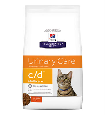 Hill's Prescription Diet Feline C/D Urine