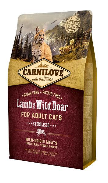 Carnilove Lam & Wild Zwijn Sterilised
