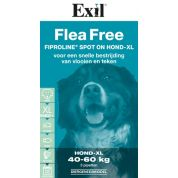 Exil Flea Free Fiproline Spot On Hond Xl 3 Pipet