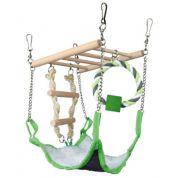 Trixie Hangbrug met Hangmat 17x22x15cm
