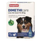 Beaphar Dimethicare Line-On Hond 6 pip (15-30kg)