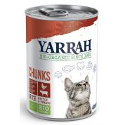Yarrah Cat Blik Brokjes Kip/rund In Saus 405 Gr
