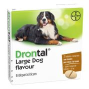 Bayer Drontal Ontworming Hond L 2 Tabletten
