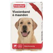 Beaphar Diagnos Vlooienband Hond Rood