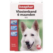 Beaphar Diagnos Vlooienband Hond wit