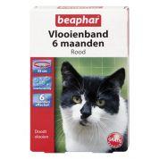 Beaphar Diagnos Vlooienband Kat rood