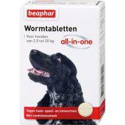 Beaphar Wormtablet All-In-One Hond 2,5-20 Kg 2 Tbl