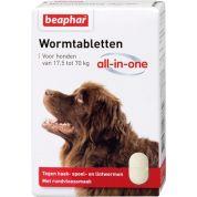 Beaphar Wormtablet All-In-One Hond 17,5-70 Kg 2 Tbl