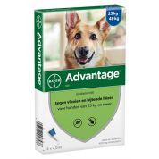 Bayer Advantage Hond 4 Pipetten 400 Vanaf 25 Kg