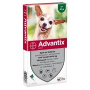 Bayer Advantix Spot On 40/200 Tot 4 Kg - 4 Pip