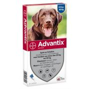 Bayer Advantix Spot On 400/2000 25+ Kg - 4 Pip