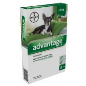 Bayer Advantage 40 Hond 4 pip (< 4kg)