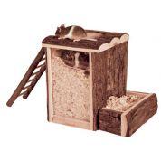 Trixie Natural Living Speel- En Graaftoren Hamster 25x20x24cm