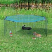 Trixie Natura Knaagdierren Met Beschermnet Groen Dia 150 Cm 60X57 Cm