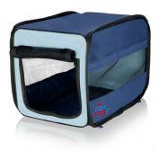 Trixie Reismand Twister Opvouwbaar Donkerblauw / Lichtblauw 50x52x76cm