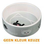Keramische Voer/waterbak Mimi 12cm - 300ml