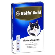 Bolfo Gold Kat Vlooiendruppels 80 2 Pipet
