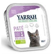 Yarrah Cat Kuipje Wellness Pate Kip/kalkoen Aloe Vera 100 Gr