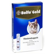 Bolfo Gold Kat Vlooiendruppels 40 4 Pipet