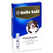 Bolfo Gold Hond Vlooiendruppels 400 4 Pipet