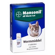 Mansonil Kat All Worm Tabletten 4 St