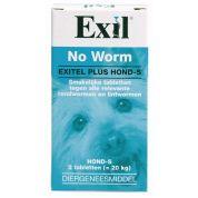 Exil Hond No Worm Tabletten S 2st.