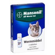 Mansonil Kat All Worm Tabletten 2st.