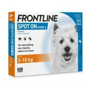 Frontline Hond Spot On Small 6 Pipet