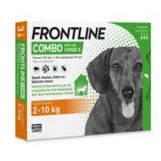 Frontline Hond Combo Small 3 pip (2-10kg)