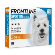 Frontline Hond Spot-On Small 4 pip (2-10kg)