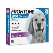 Frontline Hond Spot On Large 4 Pipet