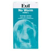 Exil Hond No Worm Tabletten L 2st.