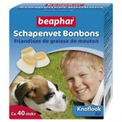 Beaphar Schapenvet Bonbons Knoflook 245gr