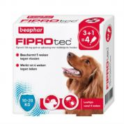 Beaphar Fiprotec Spot-On Medium Hond 4 pip (10-20kg)