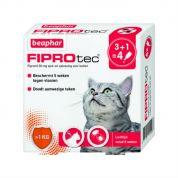 Beaphar Fiprotec Spot-On Kat 4 pip (> 1kg)