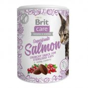 Brit Care Snack Superfruits Salmon Kat 100gr